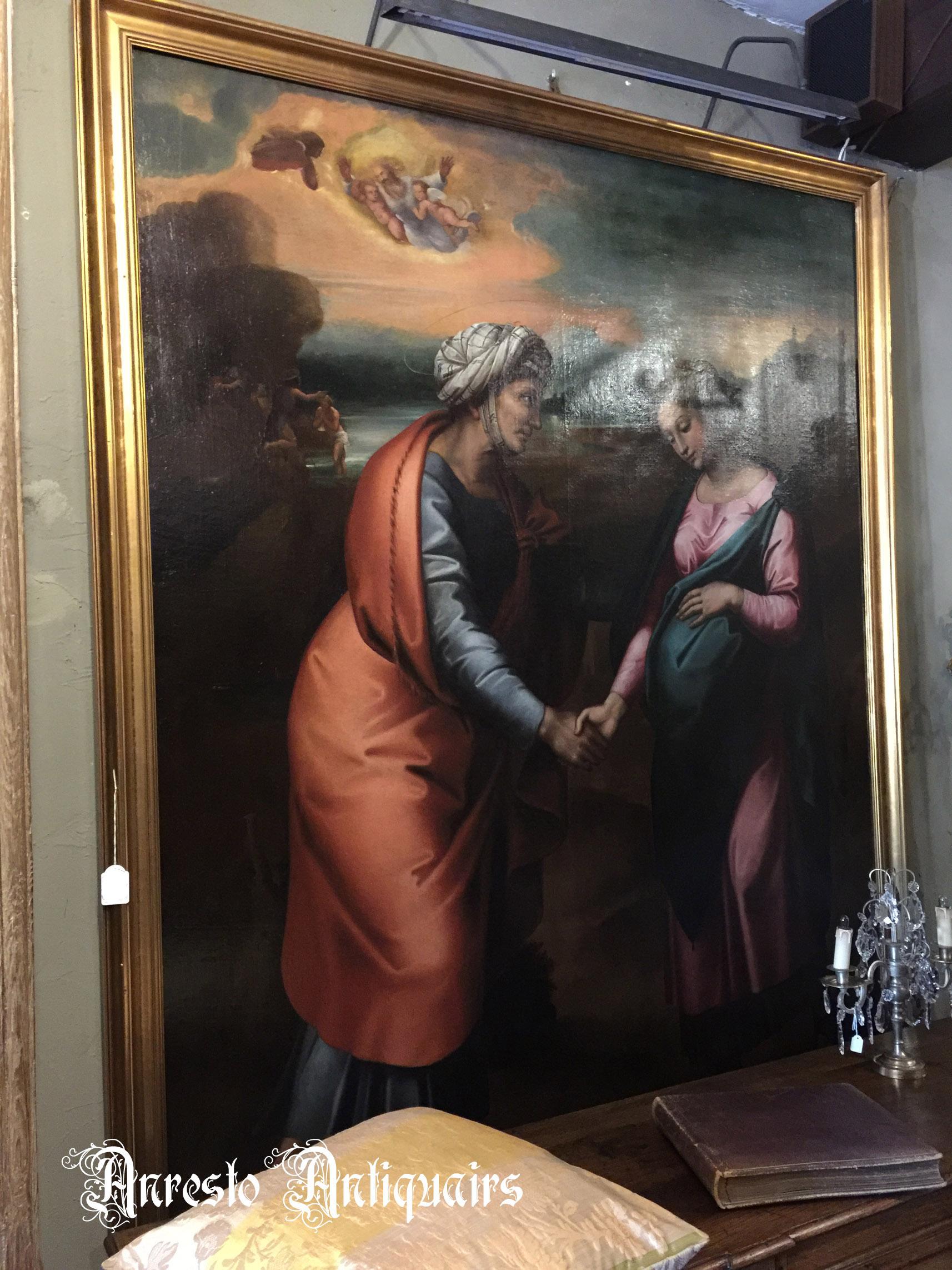 Ref. - 02 schilderij italiaans 17de eeuw