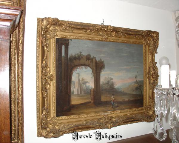 Ref. 09 – Engels schilderij 18de eeuws foto 1