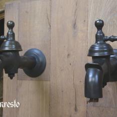 Ref. 61- Set gerestaureerde waterkranen uit de 18e eeuw