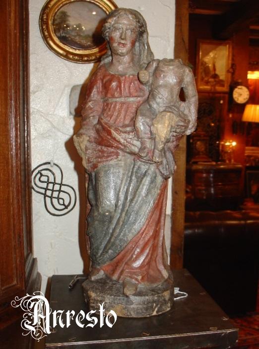Ref. 14 - Madonna met kind 17e eeuws