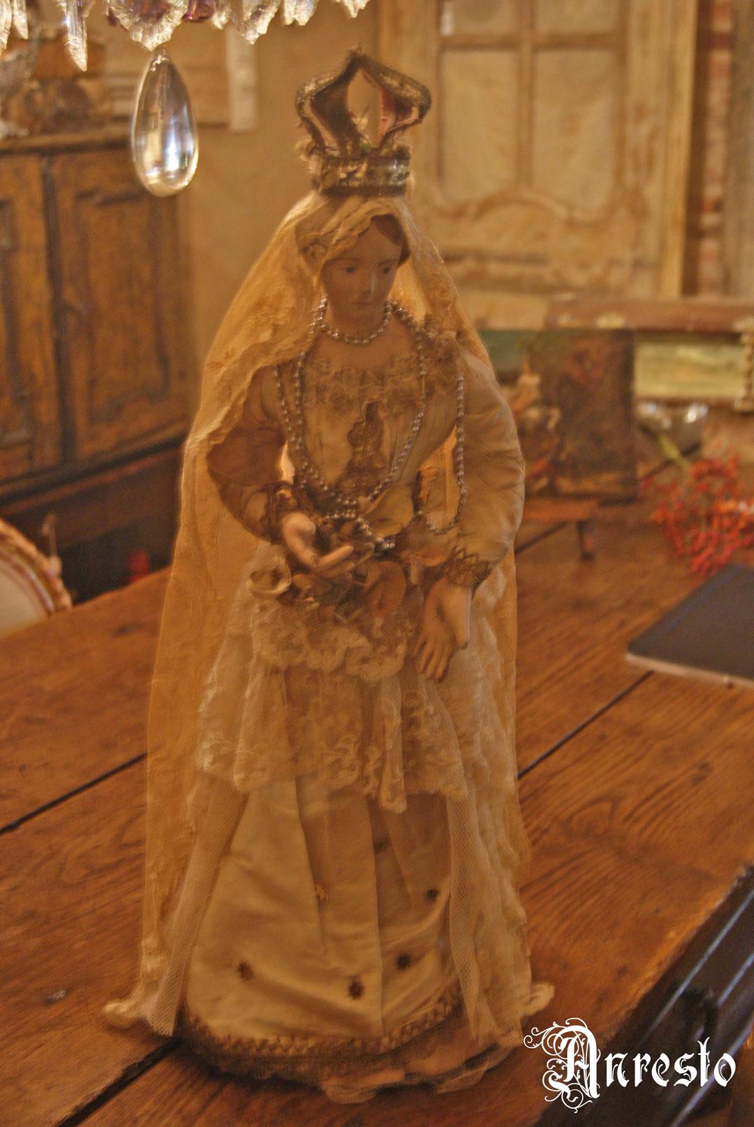 Ref. 23 - Antieke Madonna 19e eeuws