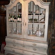 Ref. 06 – Antieke Hollandse kabinet vitrinekast