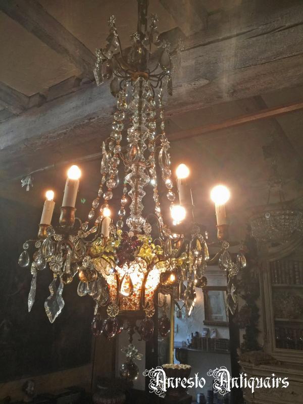 Ref. 02- Antieke Italiaanse hanglamp
