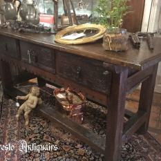 Ref. 14 – Spaanse tafel antiek 17de eeuw foto 1