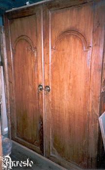 Koloniale dubbele deur