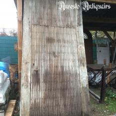 Ref. 17 – Antieke Ardeense eikenhouten buitendeur