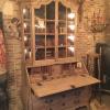 Ref. 21 – Oude Vlaamse kabinet kast, antieke Vlaamse vitrine kast