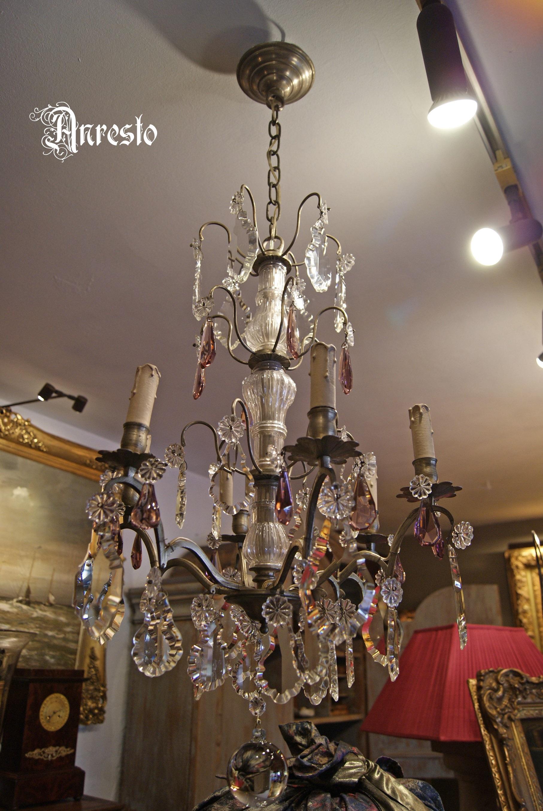 Franse Rococo hanglamp