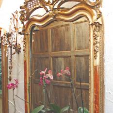 Spiegel in Franse Rococo