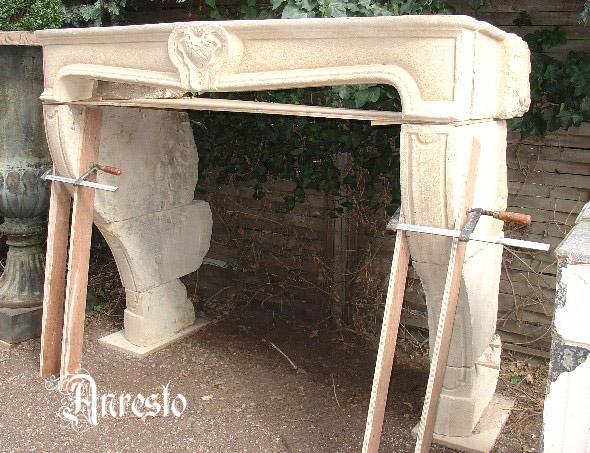 Zuid - Franse schouw kalkzandsteen