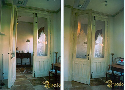 Art Nouveau deuren