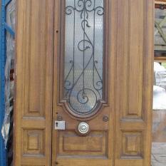 Luxemburgse buitendeur in 2 delen