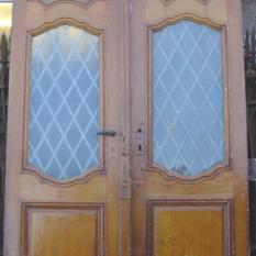 Ardeense dubbele buitendeur 18e eeuws