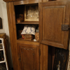 Ref. 35 – Antieke eikenhouten 2-deurskast foto 2