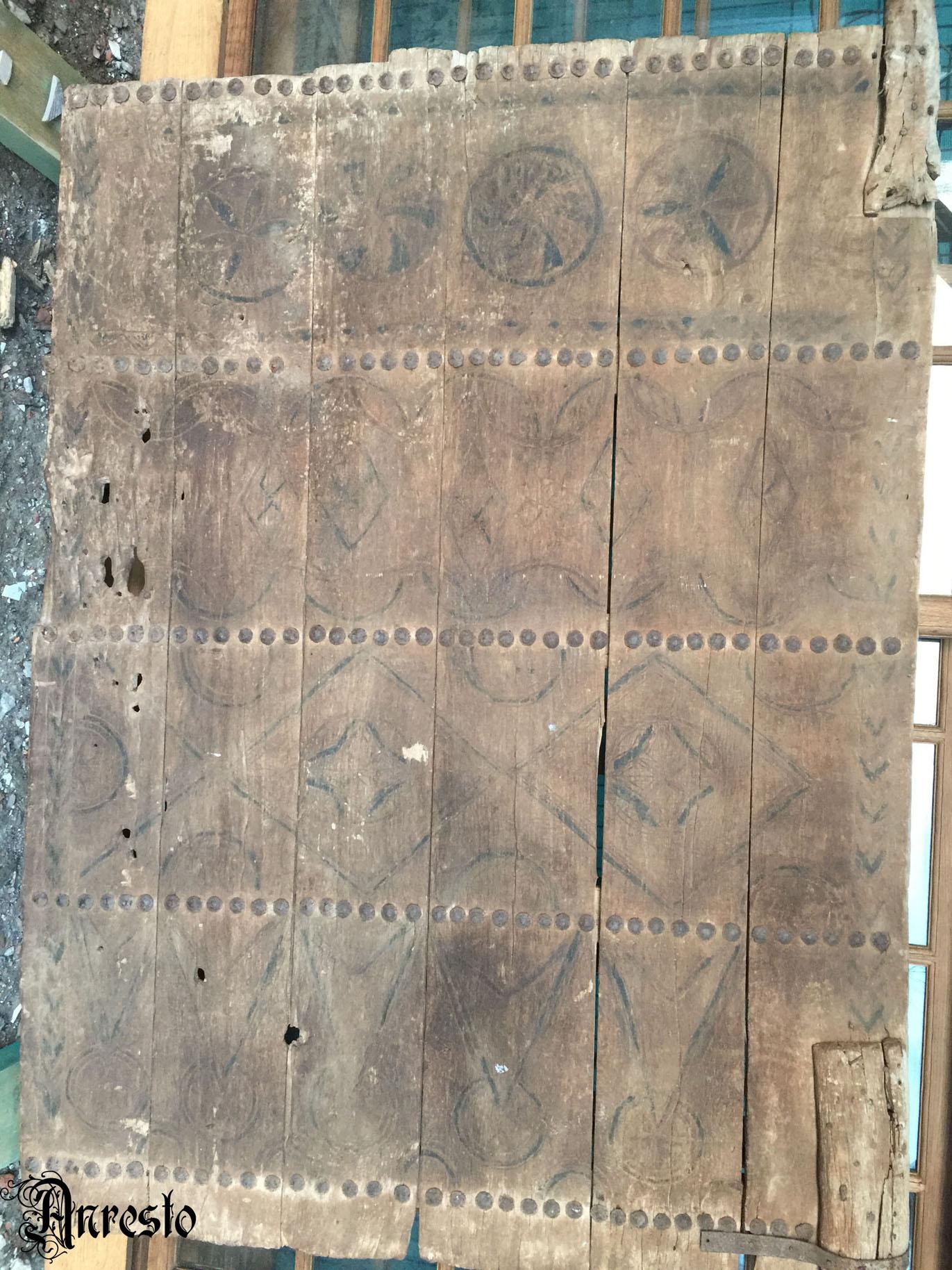 Ref. 36 - Antieke Ardeense deur, oude Ardeense deur