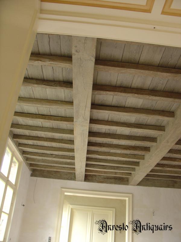 Ref. 04 – Balkenplafond, antiek eiken plafond