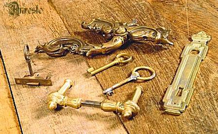 Antieke siersluitingen