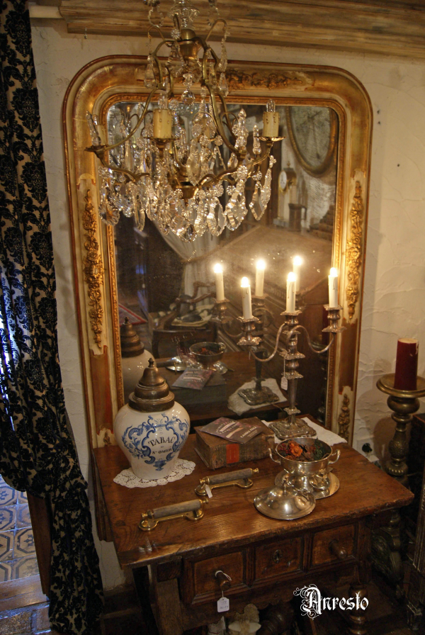 Spiegel in Romantische stijl