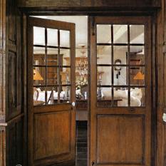 Ardeense landelijke vitrinedeuren 18e eeuws