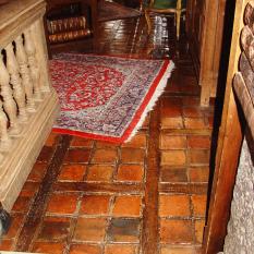 Ref. 01 – Terracotta vloer foto 1