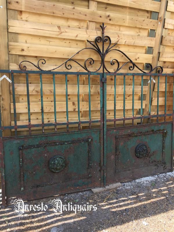 Ref. 05 – Antieke smeedijzeren poort, oude smeedijzeren poort