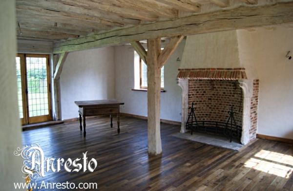 Ref. 10 – Historische vakwerkbouw antieke openhaard