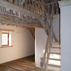 Ref. 11 – Antiek trapwerk, te koop vakwerkhuis