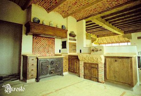 Ref. 11 – Landelijke keuken met Bourgondisch tablet - Anresto keuken ontwerp