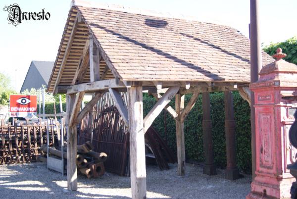 Ref. 12 – Antieke eikenhouten constructies