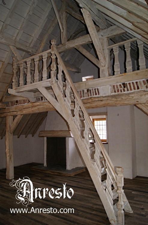 Ref. 13 – Vakwerkbouw trap constructie