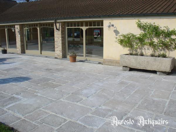 Ref. 15 – Bourgondische dallen terrasvloer