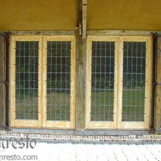 Ref. 18 – Ramen met luiken kasteel boerderij te koop