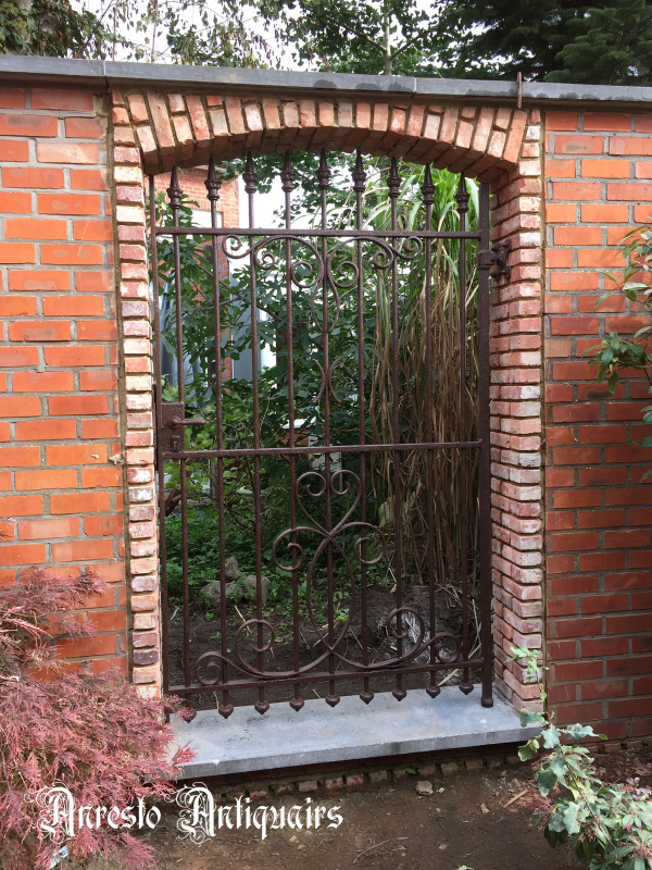 Ref. 18 – Smeedijzeren tuinpoort
