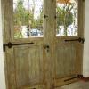 Ref. 01 – Prachtige dubbele sobere en landelijke hoeve buitendeur