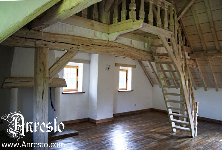 Ref. 23 – Trap restauratie en dakwerk. Vakwerkhoeve te koop