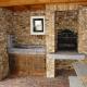 Ref. 26 – Buitenkeuken met barbecue - Anresto keuken ontwerp
