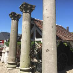 Ref. 27 – Antieke blauwstenen kasteelzuilen foto 4