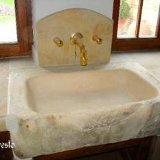 Ref. 02 – Spoelbak Bourgondische steen - Anresto keuken ontwerp