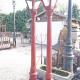 Ref. 34 – Stel oude gietijzeren lantaarns