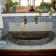 Ref. 34 – Antieke keukenkranen in muur ingewerkt