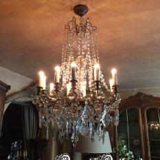 Ref. 34 – Antieke hanglamp, oude luster