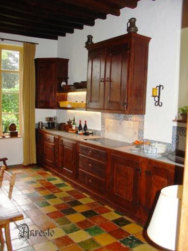 Ref. 35 – Landelijke keuken in massieve eik