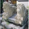 Ref. 03 – Antieke kalkzandstenen leeuwen beelden , oude kalkzandstenen leeuwen beelden
