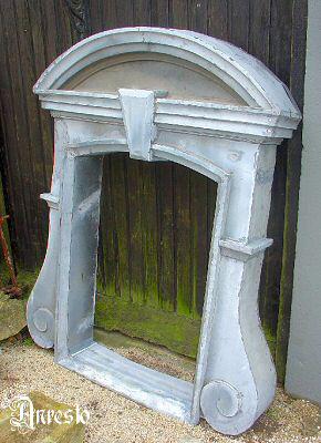 Ref. 04 – Frans dakraam in zinkwerk 19e eeuw