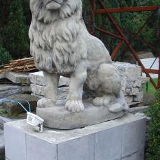 Ref. 05 – Antieke Renaissance leeuwen