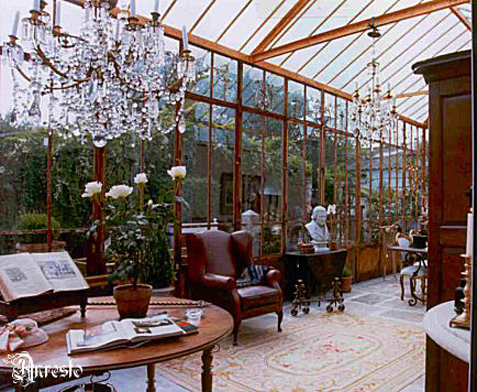 Ref. 05 – Orangerie binnenzijde ca. 1830