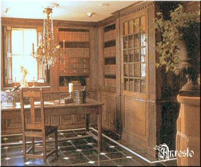 Ref. 06 – Studeerkamer bibliotheek interieur