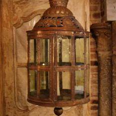 Vlaamse hanglamp 18e eeuw
