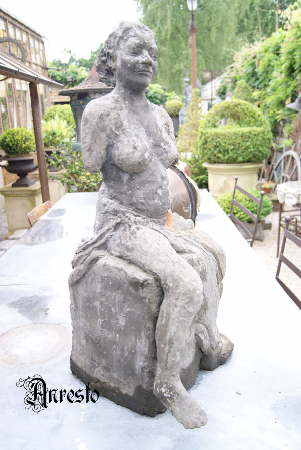 Ref. 16 - Antiek beeld, oud tuinbeeld
