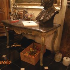 Ref. 29 – Prachtige gesculpteerde houten console tafel